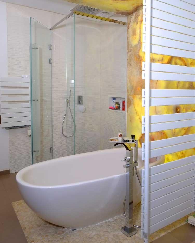Cabine de douche italienne gallery of cabine douche sans - Remplacer baignoire par cabine de douche ...